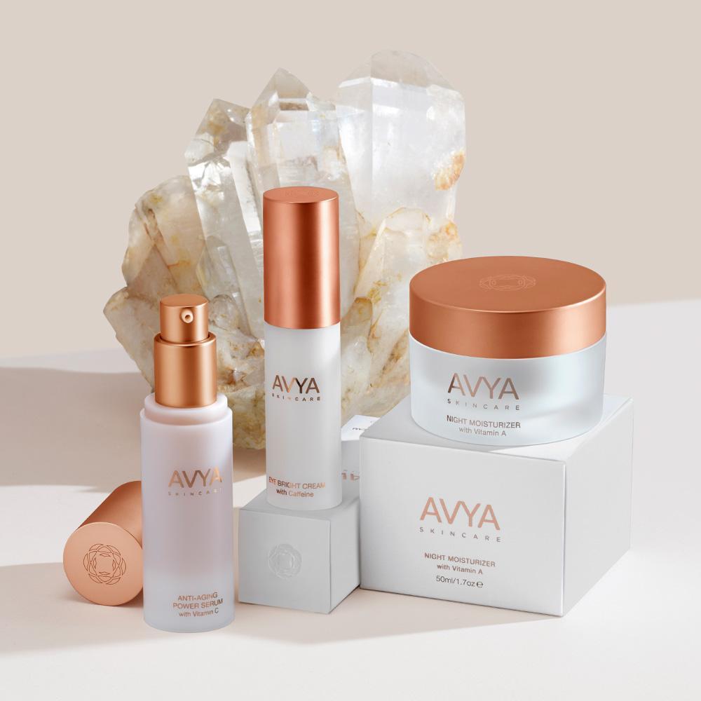 Avya Skincare gift set