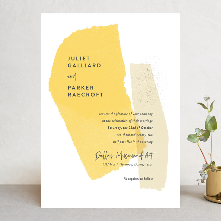 pantone color of the year Minted stationery sample